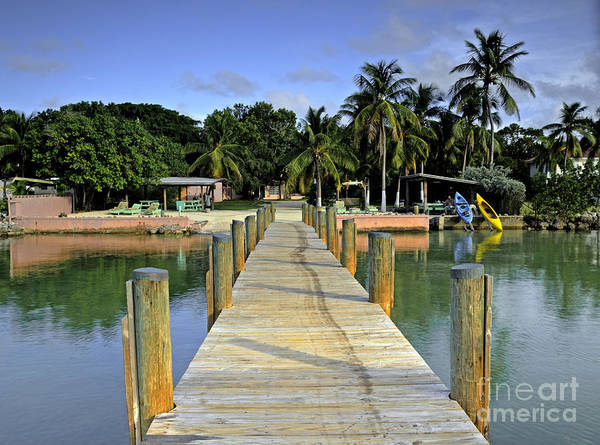 Keys Art Print featuring the photograph Resort by Bruce Bain