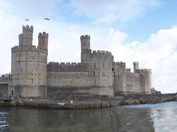 Castles Art Print featuring the photograph Caernarfon Castle by Christopher Rowlands
