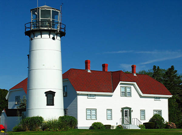 Lighthouse Art Print featuring the photograph Chatham Lighthouse by Juergen Roth