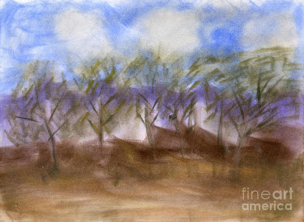 Art Print featuring the pastel Untitled by Taylor Webb