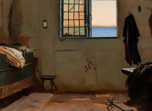 Painting Art Print featuring the painting A Fisherman's Bedroom by Mountain Dreams