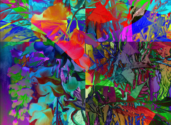 Nature Art Print featuring the digital art Absent-minded by Ed Caravana
