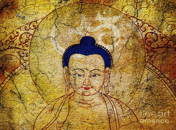 Buddha Art Print featuring the photograph Aum Buddha by Tim Gainey