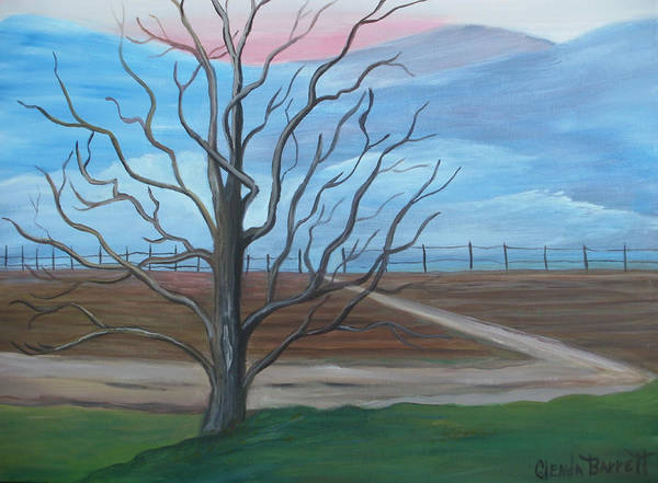 Original Art Print featuring the painting Break Of Day by Glenda Barrett