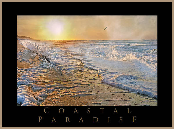 Shore Art Print featuring the photograph Coastal Paradise by Betsy Knapp