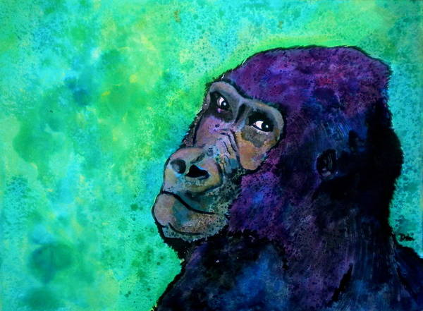 Go Sit In Time Out Art Print featuring the painting Go Sit In Time Out by Debi Starr
