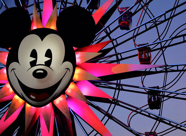 Mickey Art Print featuring the photograph Happy Times by Camille Lopez