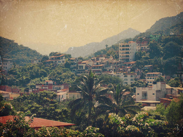 Puerto Vallarta Print featuring the photograph It Was Years Ago by Laurie Search