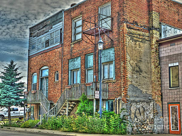 Mj Olsen Art Print featuring the photograph Living Downtown Up North by MJ Olsen