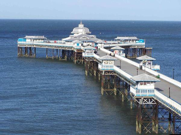 Piers Art Print featuring the photograph Llandudno Pier by Christopher Rowlands