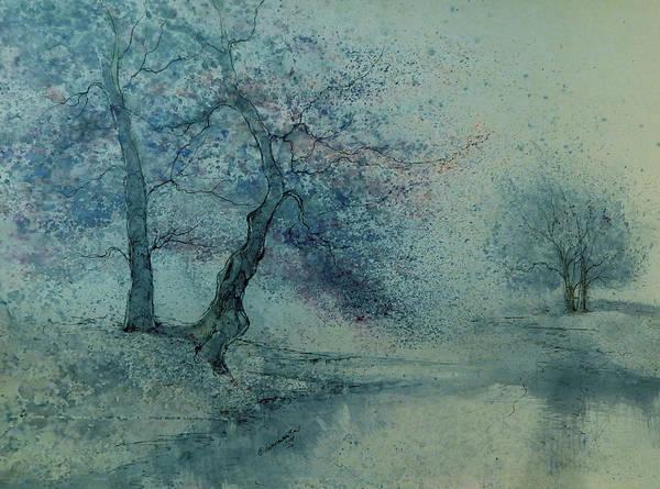 Beautiful Art Print featuring the painting Marshell Creek IIi by Anna Sandhu Ray