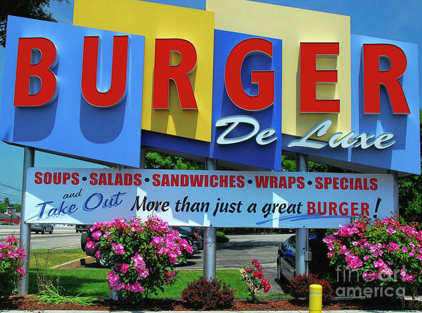 New Jersey Diner Art Print featuring the photograph New Jersey Diner by Allen Beatty
