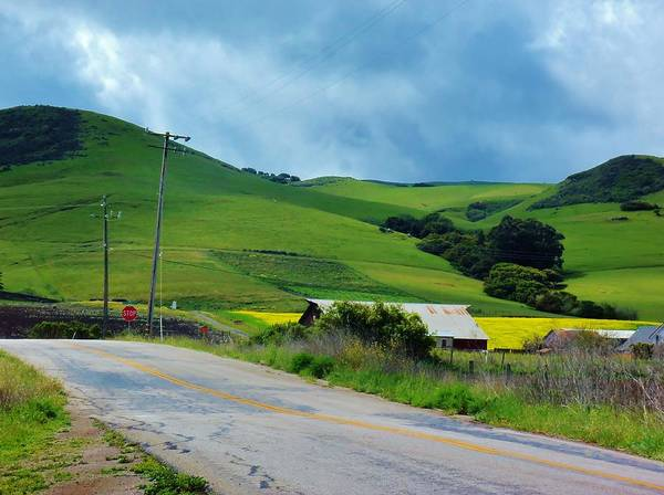 California Art Print featuring the photograph Old Rural Road On The Way To Heavenly Lands by Jan Moore