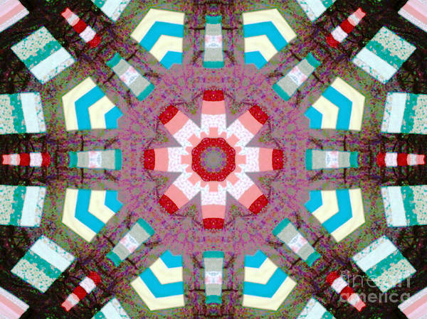 Patchwork Print featuring the photograph Patchwork Art by Barbara Griffin