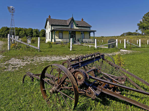 Grey Roots Museum & Archives Print featuring the photograph Rural Ontario by Steve Harrington