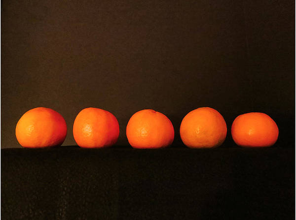 Fruit Art Print featuring the photograph Tangerines by Patricia Januszkiewicz