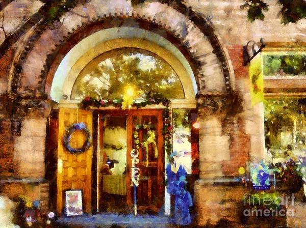 Bethlehem Pa Art Print featuring the photograph Window Shopping by Janine Riley