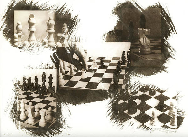 Chess Art Print featuring the photograph Your Move by Caitlyn Grasso