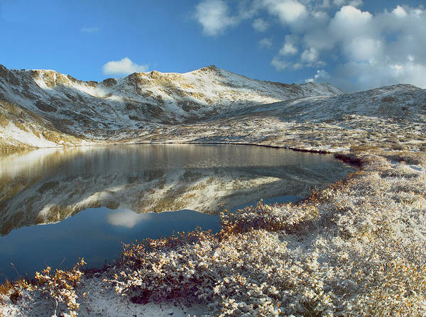 00175572 Art Print featuring the photograph Geissler Mountain And Linkins Lake by Tim Fitzharris