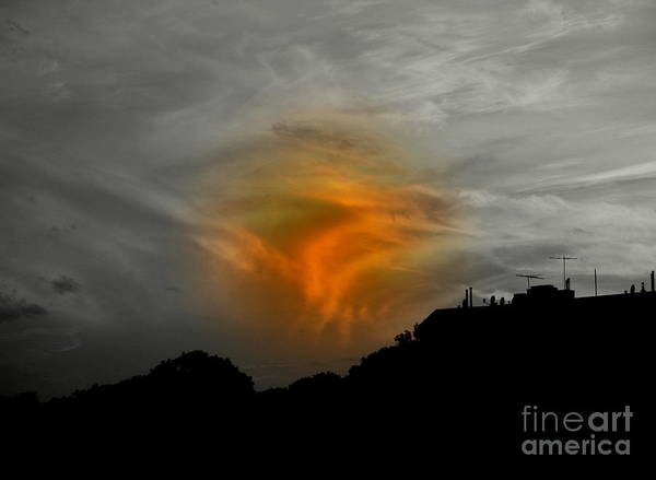 Sunset Art Print featuring the photograph July 4 2009 by Mark Gilman