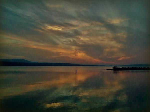 Sunset Art Print featuring the photograph Amazing Sunset by Becky Foster