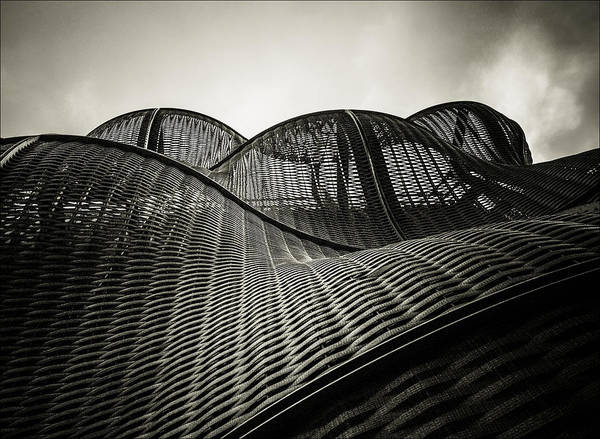 Architecture Print featuring the photograph Artistic Curves by Lenny Carter