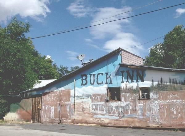 Buck Inn Art Print featuring the photograph Buck Inn by Cj Carroll