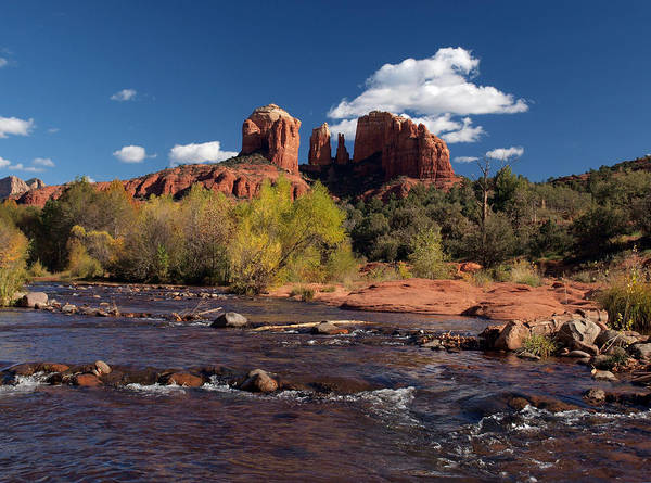 Cathedral Rock Art Print featuring the photograph Cathedral Rock Sedona by Joshua House