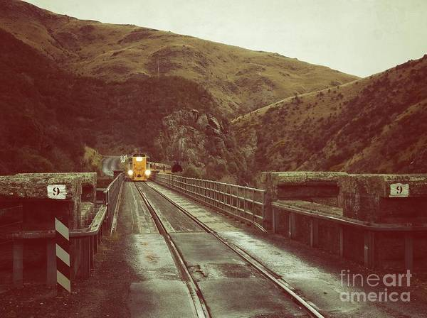 New Zealand Art Print featuring the photograph Comin Round The Bend by Alisha Robertson