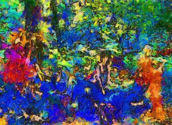 Impressionist Fashion Painting Art Print featuring the painting Fashion 335 by Jacques Silberstein