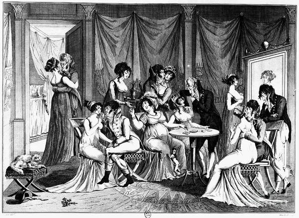 1802 Art Print featuring the photograph France: Consulate Life by Granger