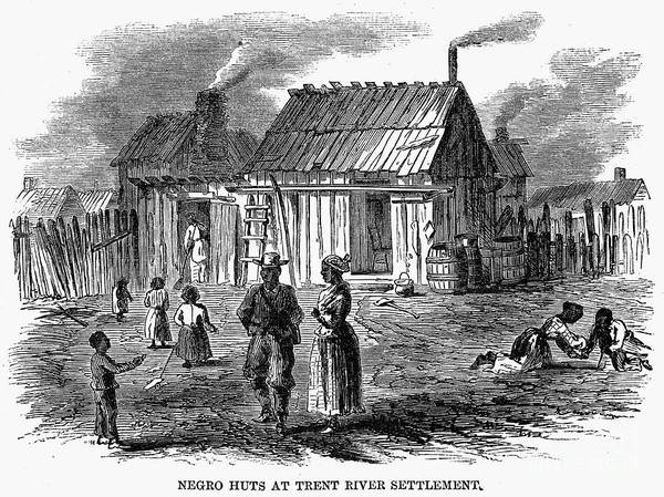 1866 Art Print featuring the photograph Freedmens Village, 1866 by Granger
