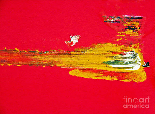 Abstract Art Print featuring the photograph Heaven Bound by Joan McArthur