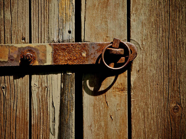 Latch Art Print featuring the photograph Latch by Odd Jeppesen