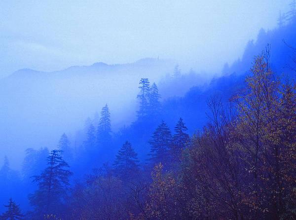 Autumn Landscapes Art Print featuring the photograph Mountain Mist by Chuck Wickham