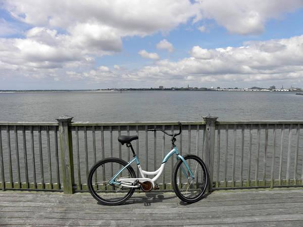 Bike Art Print featuring the photograph Pedal Pusher by Diane Barrett
