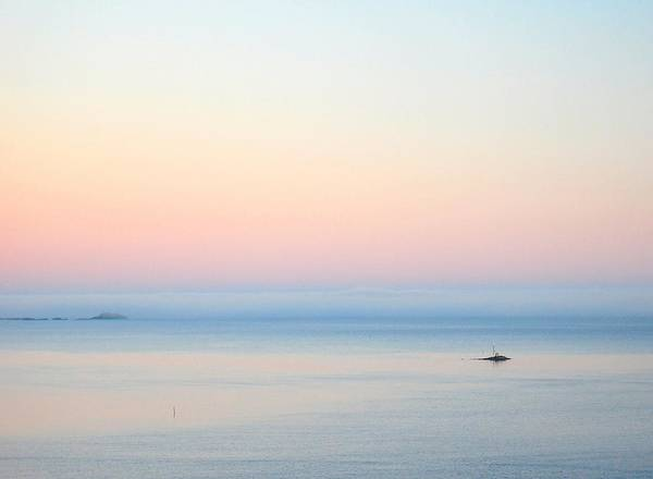 Sea Art Print featuring the photograph Sea Fog by Sonya Kanelstrand