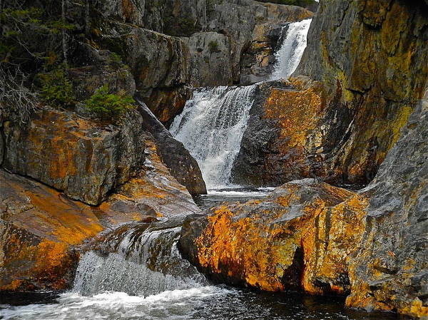 Landscape Art Print featuring the photograph Smalls Falls 7 by George Ramos