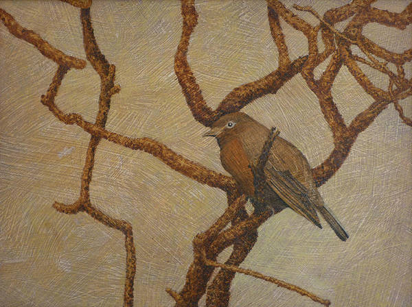 Bird Art Print featuring the painting Solo by Norm Holmberg