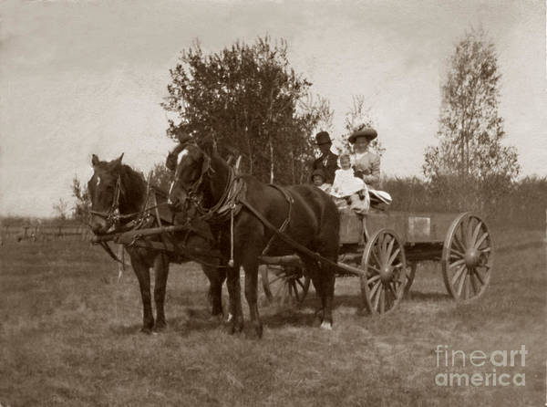 Family Art Print featuring the photograph Sunday Ride by G Richard Kenyan