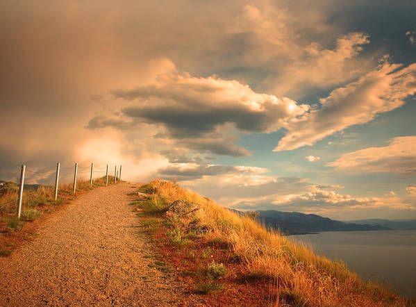 Clouds Art Print featuring the photograph The Cloud Path by Tara Turner