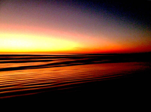 Dawn Art Print featuring the photograph The Lines Of Sunrise by Steve Taylor