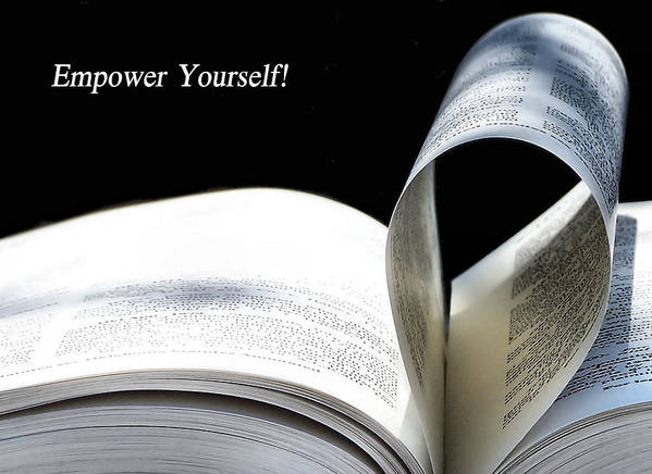 Empower Art Print featuring the photograph Empower Yourself by Karen Scovill