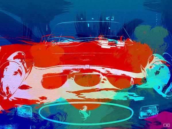 Art Print featuring the photograph Ferrari Gto by Naxart Studio
