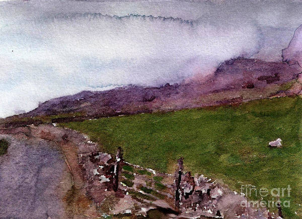 England Art Print featuring the painting #20170211b by John Warren OAKES