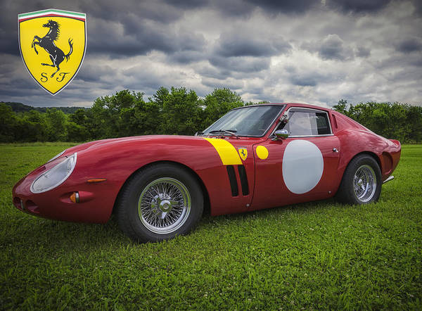 Ferrari Art Print featuring the photograph 250 Gto by Larry Helms