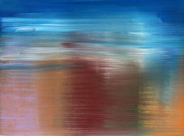 Abstract Art Print featuring the painting Abstract 422 by Patrick J Murphy