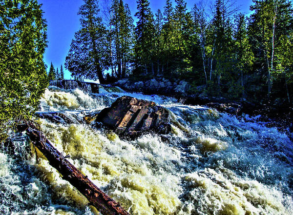 Falls Art Print featuring the photograph Amincon River Rootbeer Falls by Tommy Anderson
