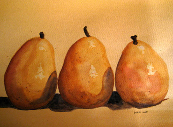 Still Life Art Print featuring the painting Another Bad Hand by Shirley Braithwaite Hunt