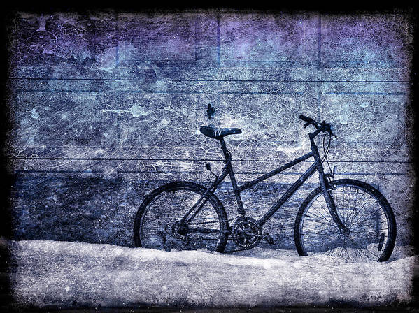 Bicycle Art Print featuring the photograph Bicycle by Evelina Kremsdorf